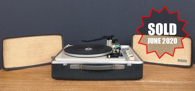 #0095830 KLH Model Eleven Portable