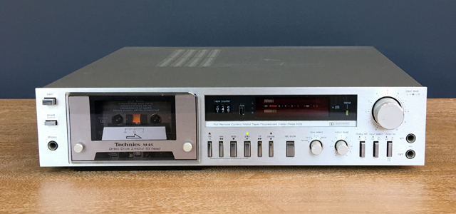 #0095837 Technics RS-M45 Cassette Deck