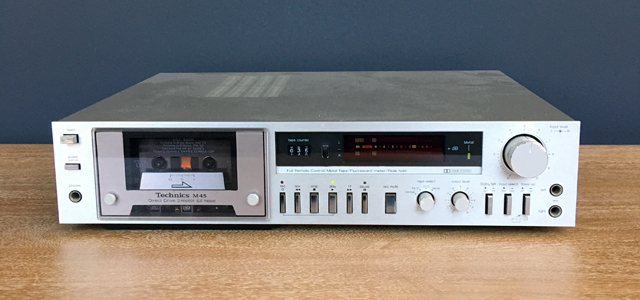 #0095839 Technics RS-M45 Cassette Deck