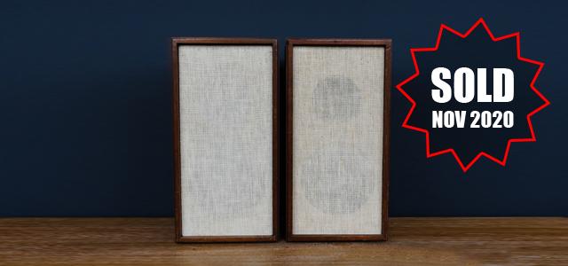 #0095810 KLH Model Twenty Speakers