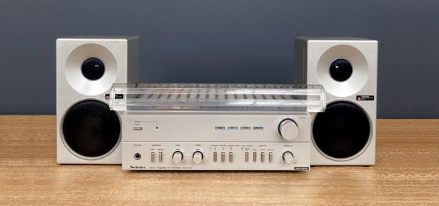 #0095834 Tecgbucs SY-C03 Amplifier / Technics SB-F2 Speakers